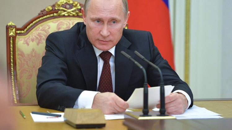 بوتين يوقع قانون الميزانية للعام القادم