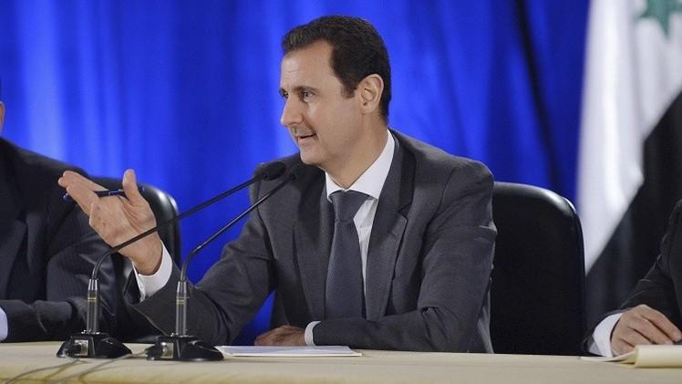 الأسد: لا يمكن القضاء على الإرهاب من الجو