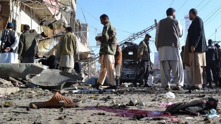 مقتل شخص وإصابة آخرين في تفجير جنوب غرب باكستان
