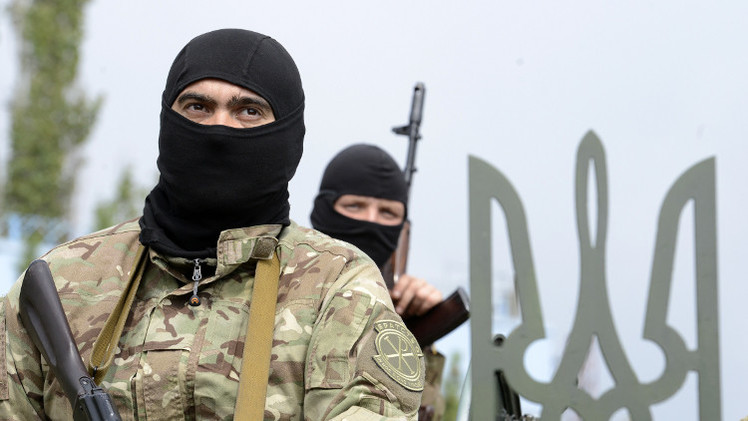 نحو ألف مرتزق أجنبي يقاتلون إلى جانب قوات كييف بشرق أوكرانيا