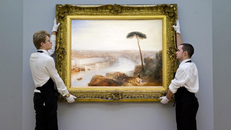 لوحة لتيرنر تباع بمبلغ فلكي في مزاد سوذبيز
