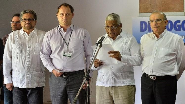 استئناف المفاوضات بين الحكومة الكولومبية وحركة