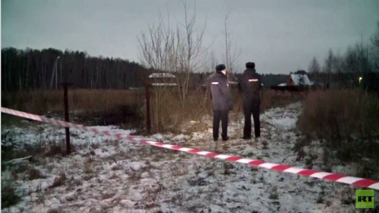 بالفيديو من روسيا.. تحطم طائرة مقاتلة بالقرب من مدرسة خارج العاصمة موسكو