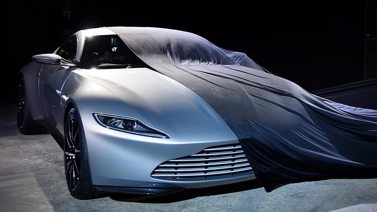 شركة أستون مارتين تعرض سيارة جديدة لجيمس بوند