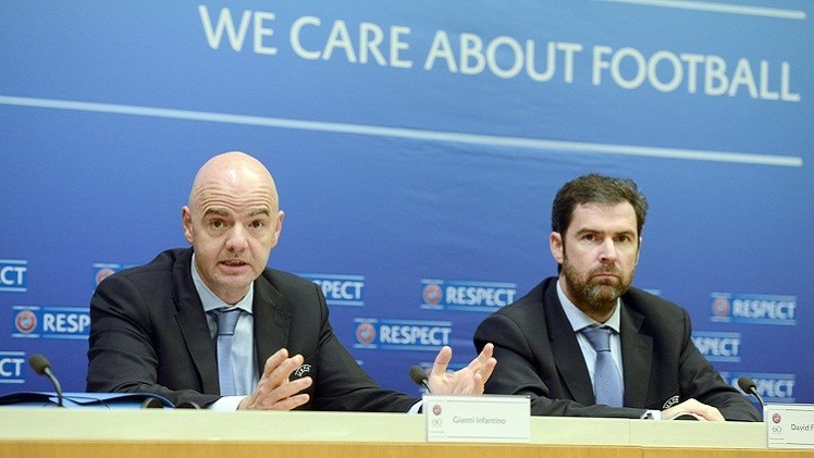 الاتحاد الأوروبي يحظر على أندية القرم المشاركة في الدوري الروسي