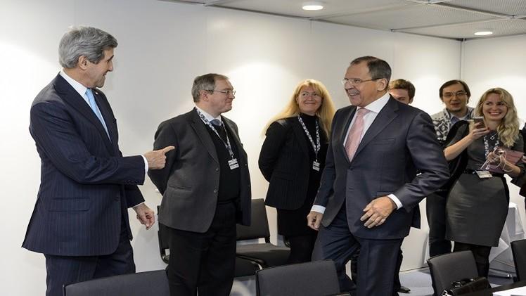 لافروف: الغرب يدعم جهود روسيا لعقد لقاء بين الحكومة السورية والمعارضة في موسكو