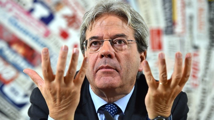 وزير الخارجية الإيطالي: مستعدون لتدخل عسكري في ليبيا بهدف إحلال السلام هناك