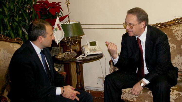 موسكو تسعى إلى توسيع الروابط مع لبنان