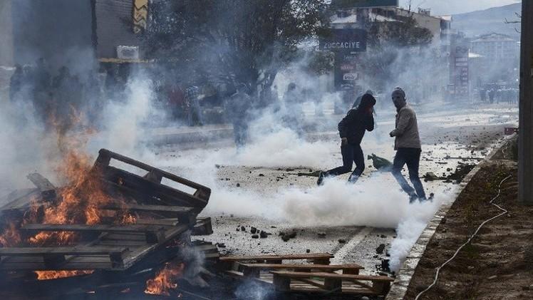 مقتل كردي في مواجهات مع الشرطة جنوب شرق تركيا