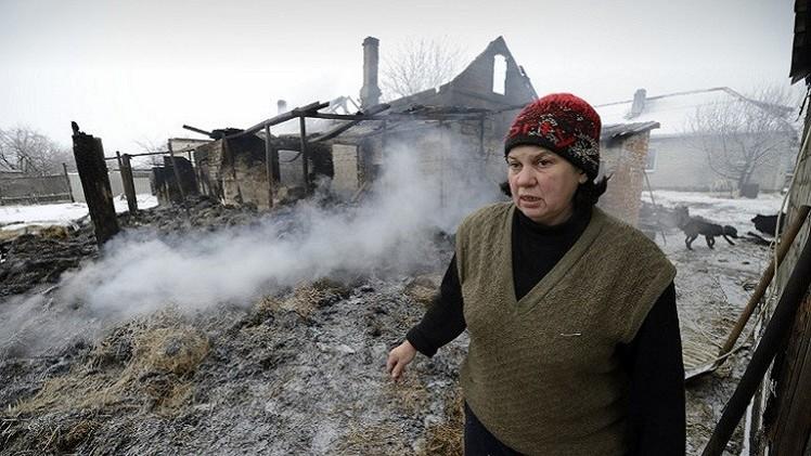 قتلى وجرحى بقصف للقوات الأوكرانية على دونيتسك