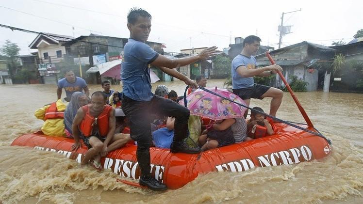 الفلبين.. ارتفاع عدد ضحايا إعصار
