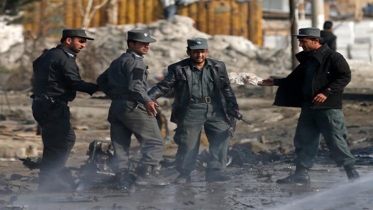 مقتل 6 في هجوم على مجمع أمني أفغاني