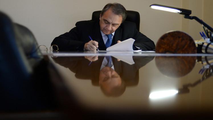 بوغدانوف يبحث مع السفير القطري الأزمة السورية