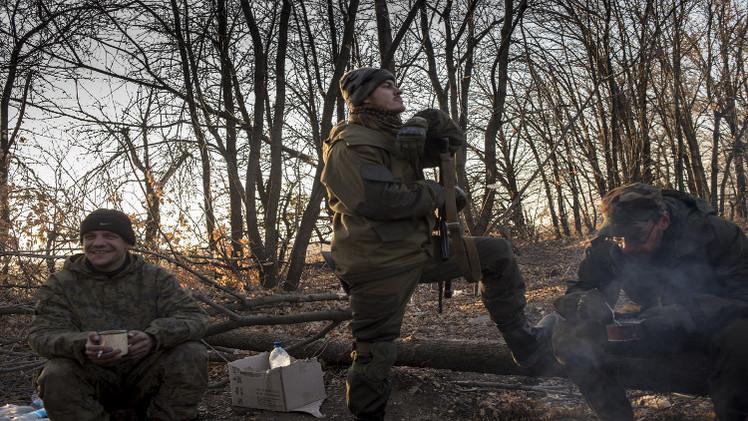 العمليات القتالية شرقي أوكرانيا تدخل في