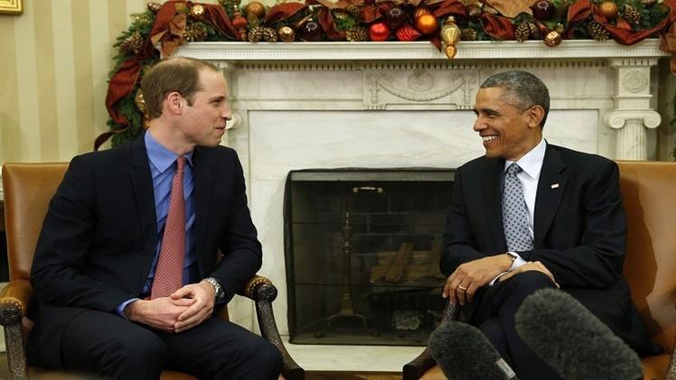 في سابقة من نوعها.. الأمير وليام في ضيافة أوباما