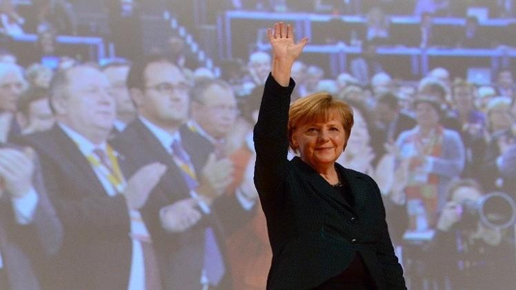 انتخاب ميركل مجددا على رأس الاتحاد الديمقراطي المسيحي