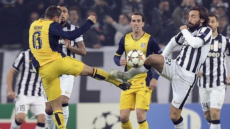 يوفنتوس يتعادل مع أتلتيكو مدريد ويبلغ دور الـ 16 للتشامبيونز ليغ