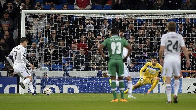 ريال مدريد يكرم لودوغوريتس البلغاري برباعية في التشامبيونز ليغ
