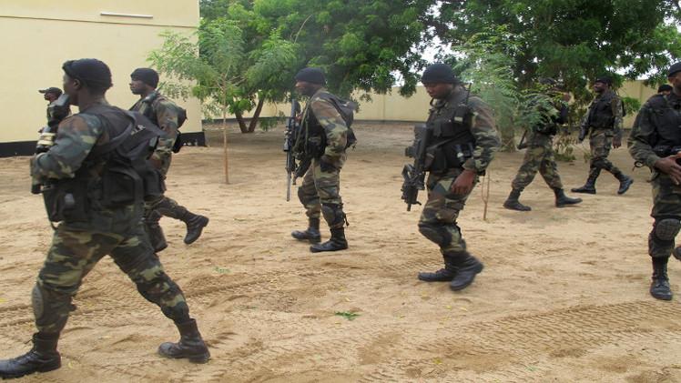 الجيش النيجيري يدمر مخيما لـ