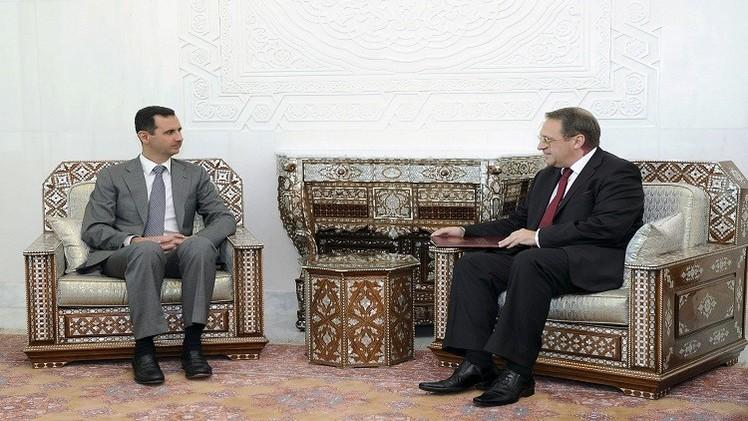 التسوية السورية إلى الواجهة بجهود روسية - أممية