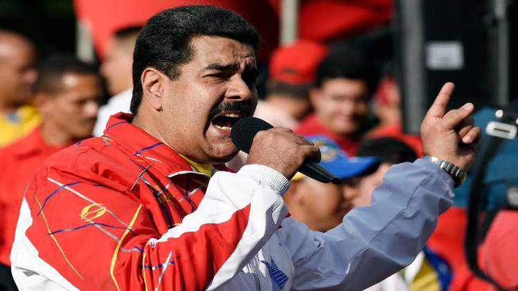 مادورو يحذر أوباما من فرض عقوبات بحق مسؤولين فنزوليين