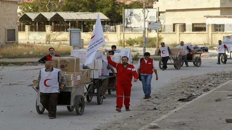 الهلال الأحمر الإماراتي يقدم 60 مليون درهم مساعدات للاجئين السوريين