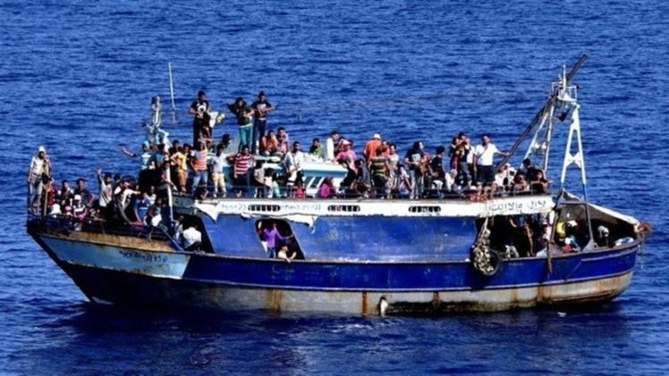 نحو 3500 مهاجر قضوا في المتوسط عام 2014