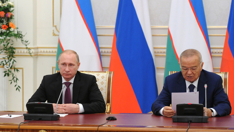 روسيا تشطب معظم ديونها المستحقة على أوزبكستان