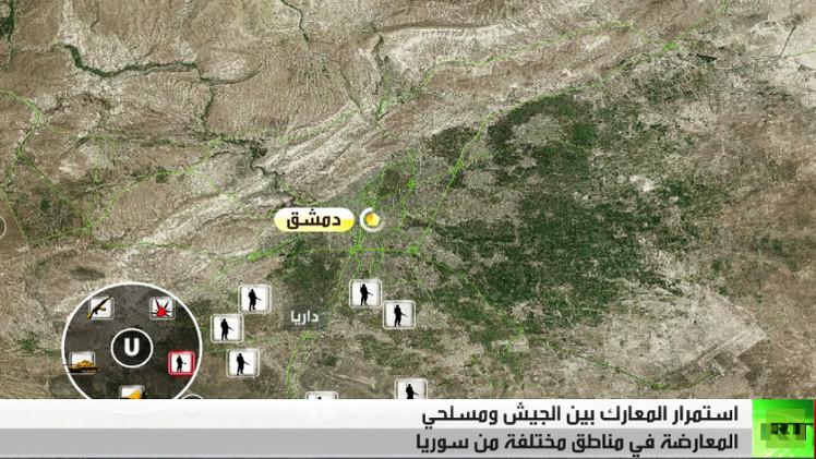تجدد الاشتباكات في محيط مطار دير الزور