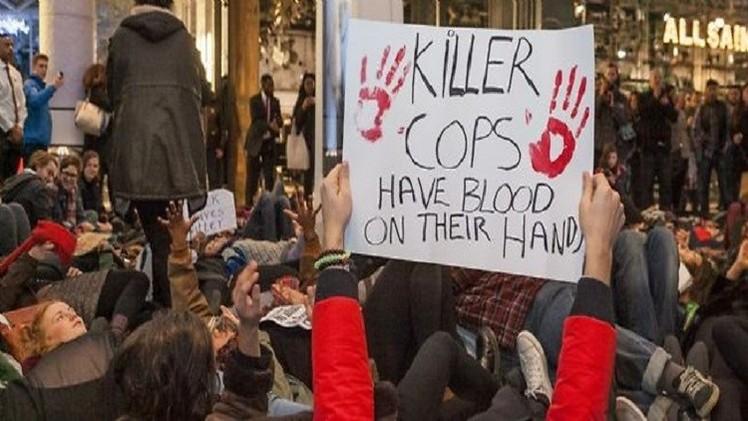 لندن.. اعتقال 76 محتجا على عنف الشرطة الأمريكية