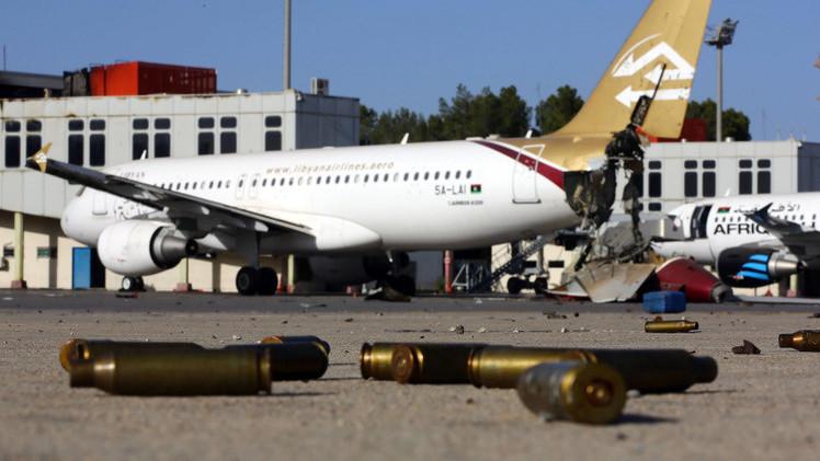 الاتحاد الأوروبي يحظر على شركات الطيران الليبية التحليق في أجوائه