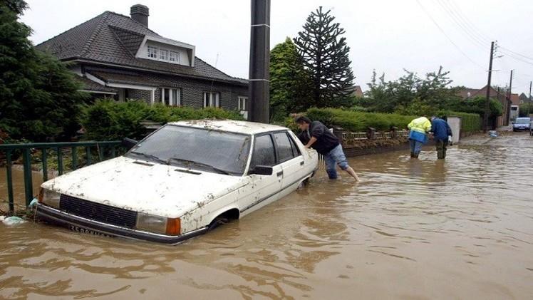 مصرع 4 أشخاص في فيضانات شمال اليونان