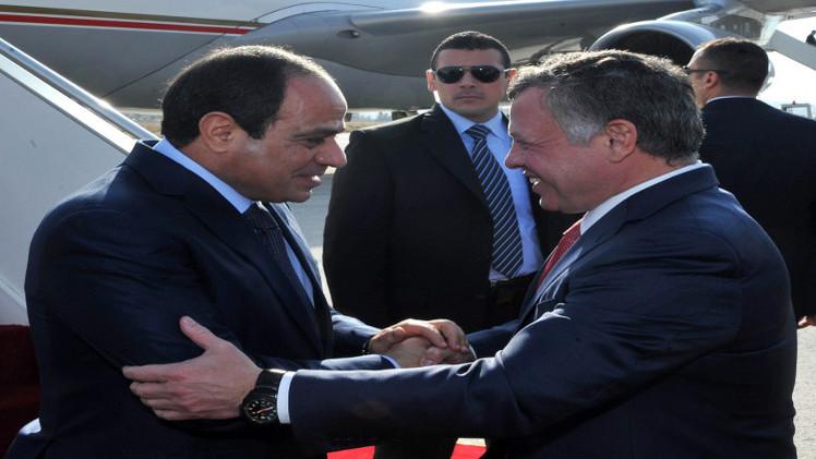 السيسي يصل إلى الأردن في زيارة رسمية (فيديو)