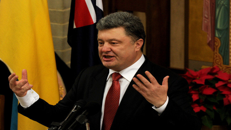 بوروشينكو: الهدنة في أوكرانيا حقيقية