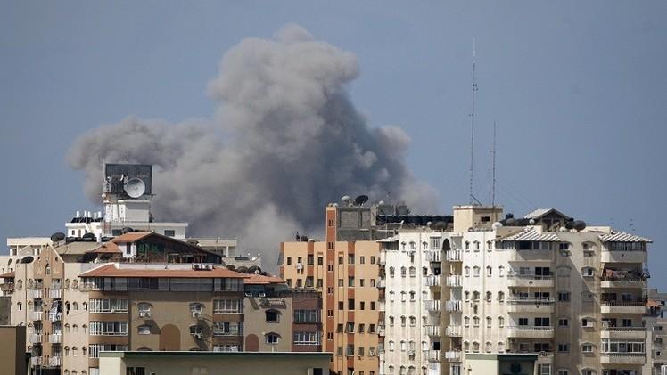 غزة..انفجار في المركز الثقافي الفرنسي