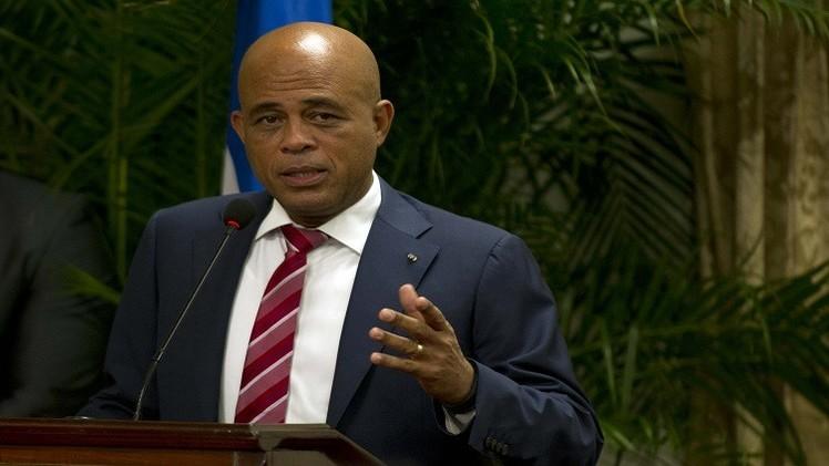 رئيس هايتي يعلن عن استقالة رئيس الوزراء