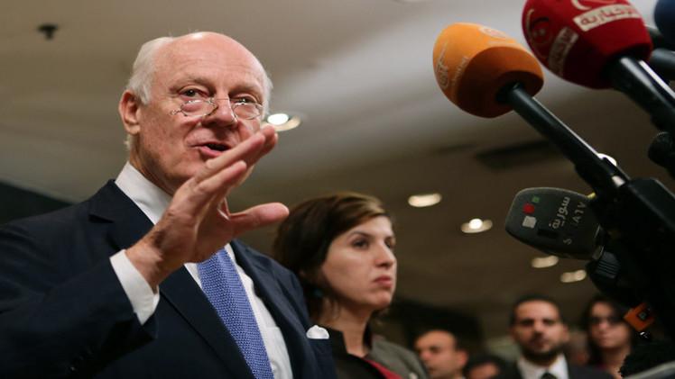 مساعد المبعوث الدولي في دمشق للقاء مسؤولين سوريين