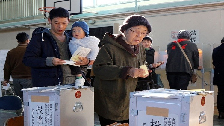 توقعات بفوز حزب رئيس الحكومة اليابانية بالانتخابات التشريعية