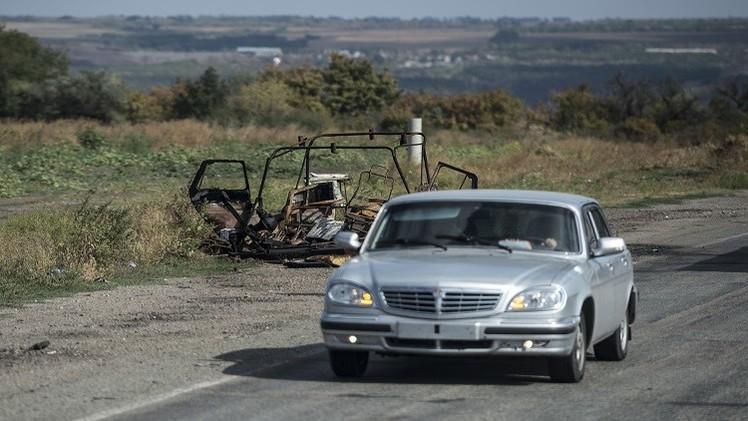 كييف تتبادل الاتهامات مع دونيتسك بخرق الهدنة