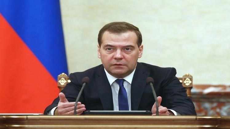 ميدفيدف في كازاخستان للمشاركة في اجتماع منظمة شنغهاي للتعاون