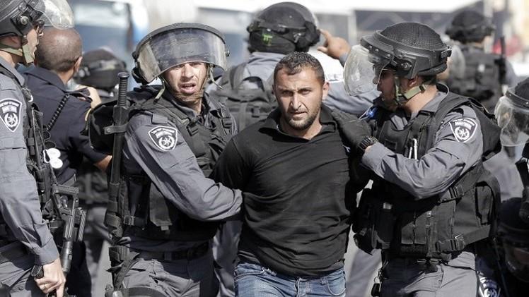 الشرطة الإسرائيلية تعتقل 8 فلسطينيين بـ