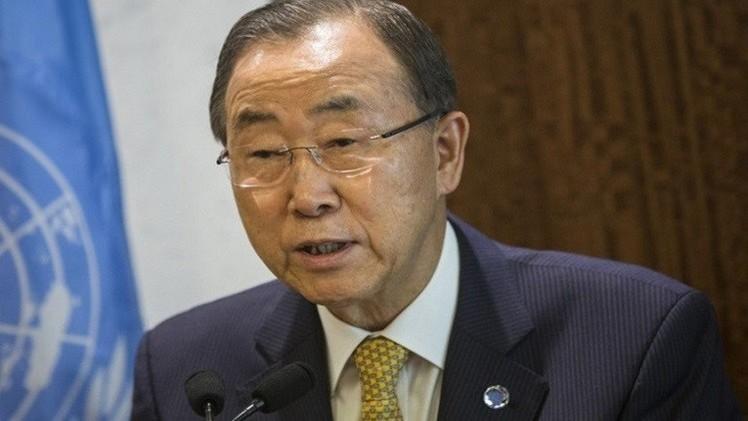 بان كي مون: قرار في مجلس الأمن يعترف بفلسطين يسهم في استئناف المفاوضات