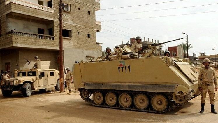 الجيش المصري: مقتل 17 مسلحا في سيناء