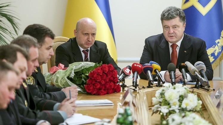 تورتشينوف رئيسا لمجلس الأمن القومي والدفاع في أوكرانيا
