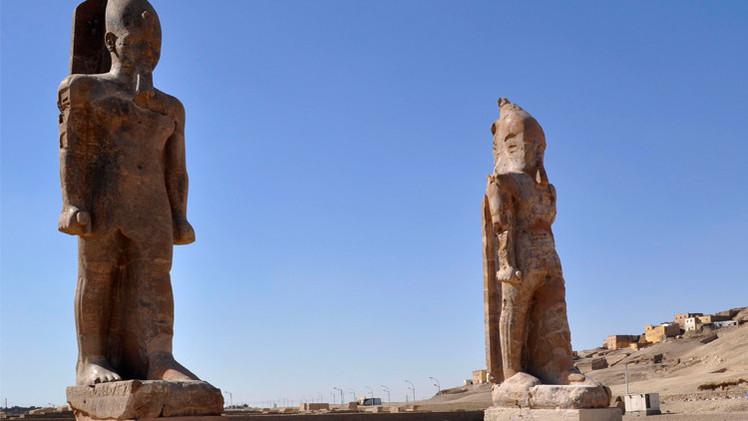 وزارة الآثار المصرية تنجح في إعادة تركيب تمثال بعد 3000 عام من تدميره