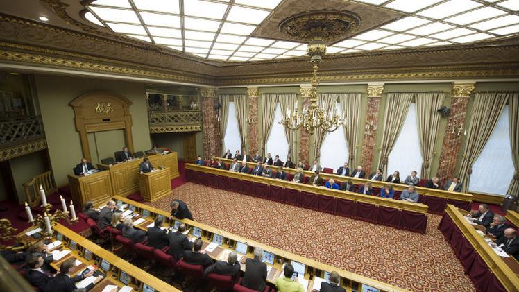 برلمان لوكسمبورغ يعترف بدولة فلسطين