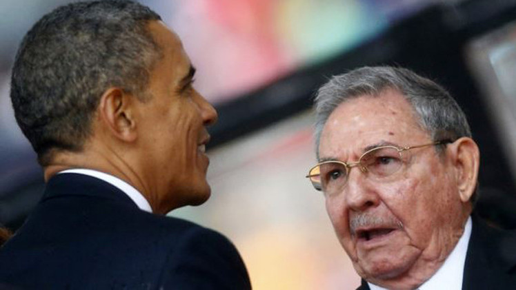 من أوباما الى هافانا