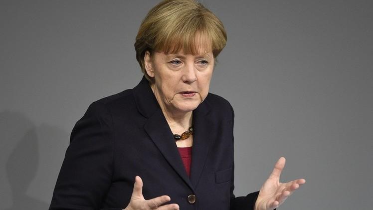 ميركل تدعو للحفاظ على أمن أوروبا بالاشتراك مع روسيا