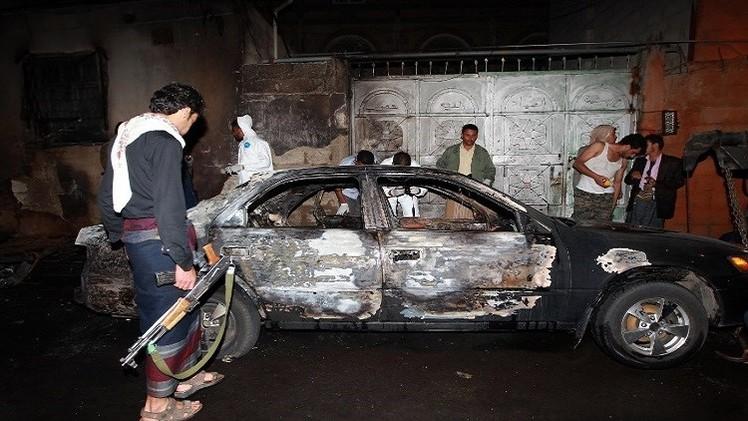 اليمن.. قتلى وجرحى بين الحوثيين بتفجير سيارتين مفخختين