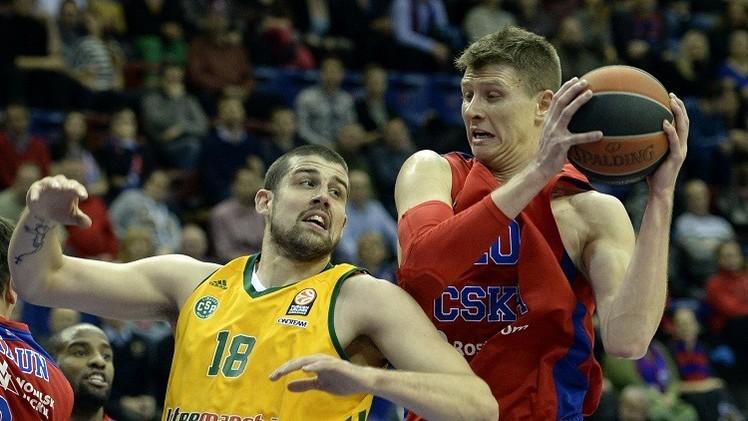 تسيسكا موسكو بالعلامة الكاملة إلى دور الـ 16 للدوري الأوروبي بكرة السلة